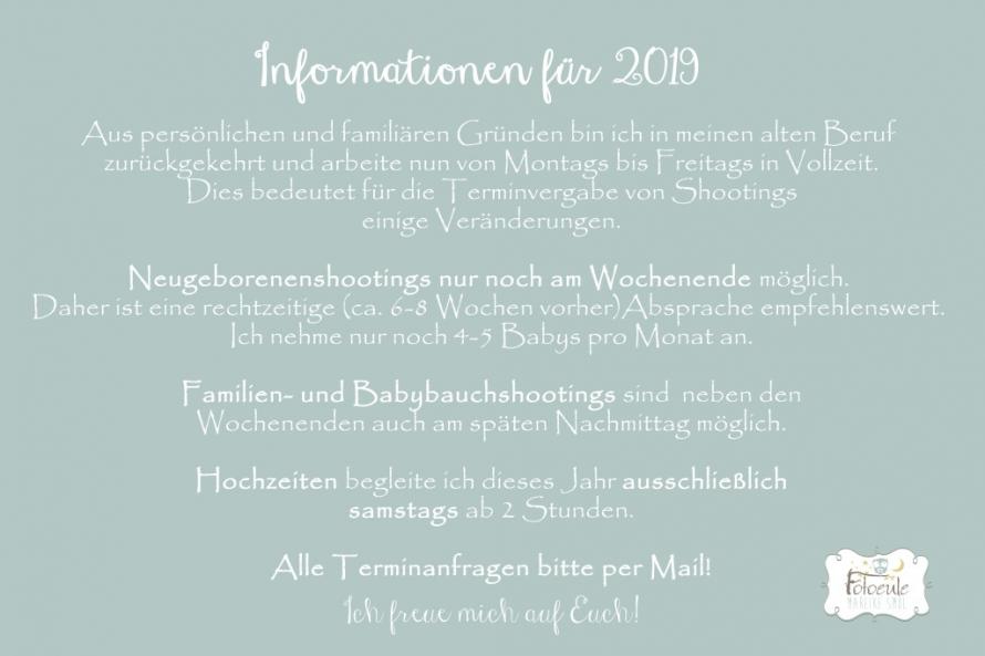 Fotoeule Weißwasser Informationen für 2019