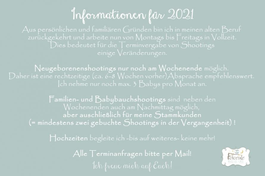 Fotoeule Weißwasser Informationen für 2021